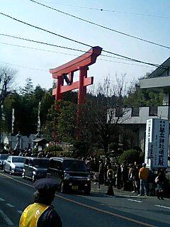 琴平神社初詣